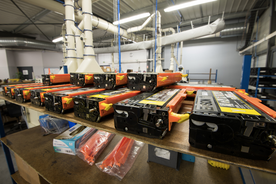 Recyclage De Cartouches Toner Pour Imprimantes Laser Apf