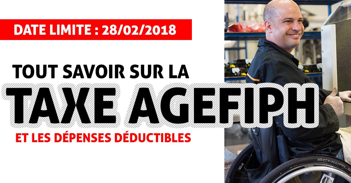taxe AGEFIPH 2017