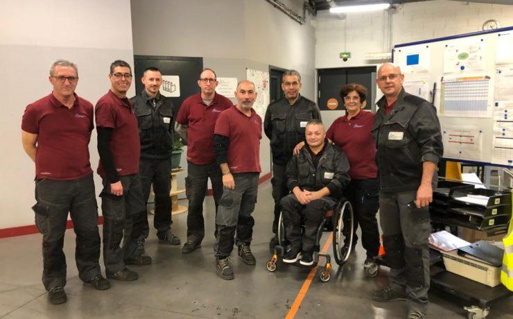 APF34 équipe Remanufacturation de cartouches toner